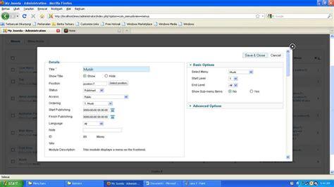 membuat artikel pada joomla 3 tutorial joomla 2 5 7 5 cara membuat menu item pada