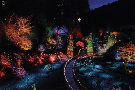 how to experience holiday magic at the butchart gardens