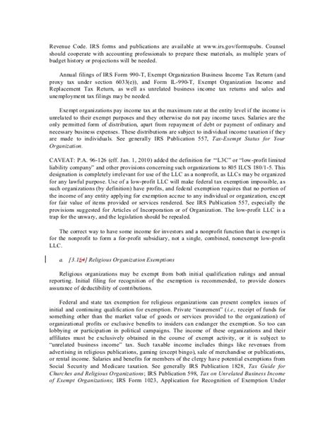 irs section 170 b 1 a vi organizing an illinois limited liability company