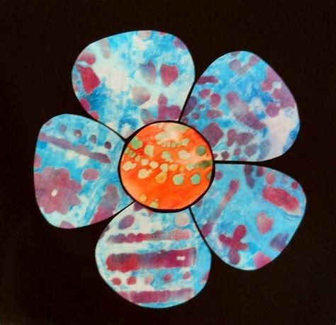 pattern simple flower simple flower applique pattern easy sewing pinterest