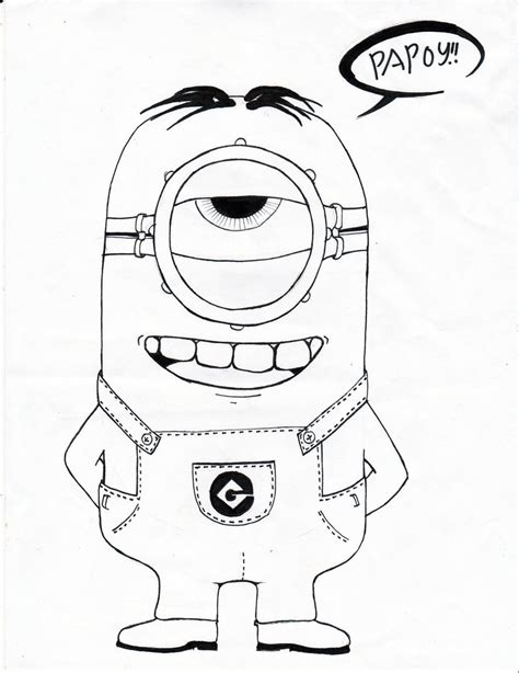 despicable me minions drawing www pixshark images