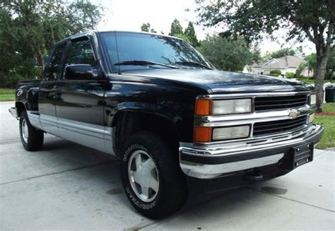 1996 chevy silverado 1500 cars for sale sell used 1996 chevrolet 1500 4x4 extended cab z71 in bradenton florida united states