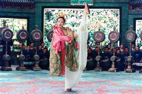house of the flying daggers photos of zhang ziyi
