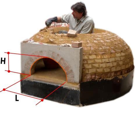 cupola per forno a legna cupola forni a legna come costruirli