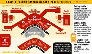 Seattle Airport Map by Map Of Sea Tac Airport Main Terminal Submited Images