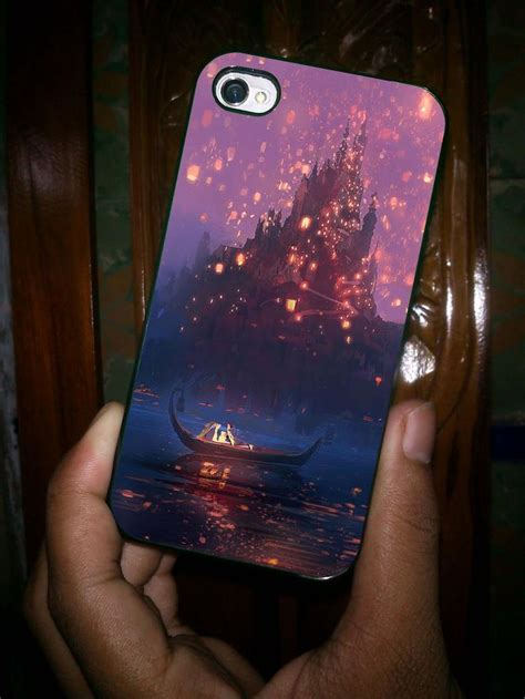 Disney Tangled Lantern Iphone 5 5s Se 6 Plus 4s Samsung Htc Cases tangled lanterns concept painting iphone 5 iphone 4 iphone 4s