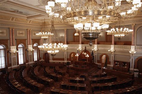 kansas house of representatives kansas state capitol online tour house of representatives hall kansas historical