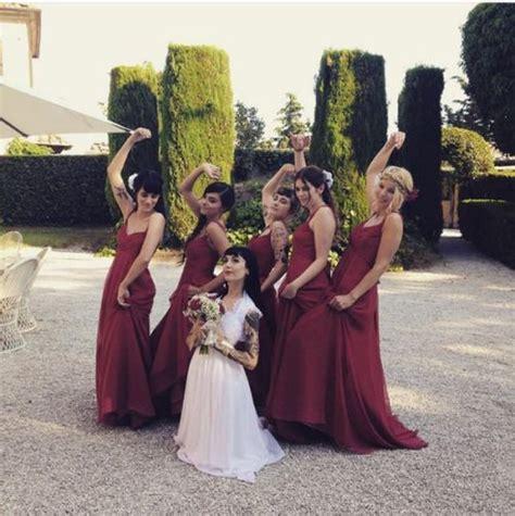 dress pink hannah pixie snowdon bring me the horizon oli sykes hannah pixie snowdon wedding dream wedding