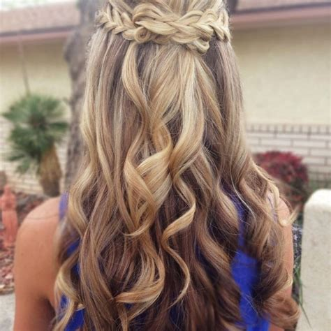 hair styles for a type 2 formal hairstyles down long hair formal hairstyles down
