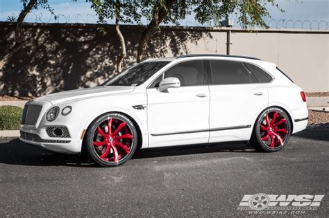 custom bentley bentayga 2017 bentley bentayga with 24 quot forgiato fondare ecl in