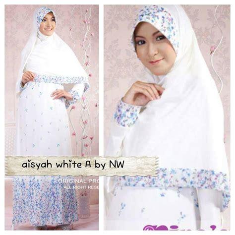 Gamis Ceruti White Gamis Putih Baju Gamis Umroh Pakaian Diskon gamis modern outlet nurhasanah outlet baju pesta muslimah