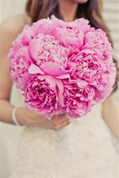 pink peonies wedding wedding bouquets with pink peonies the wedding