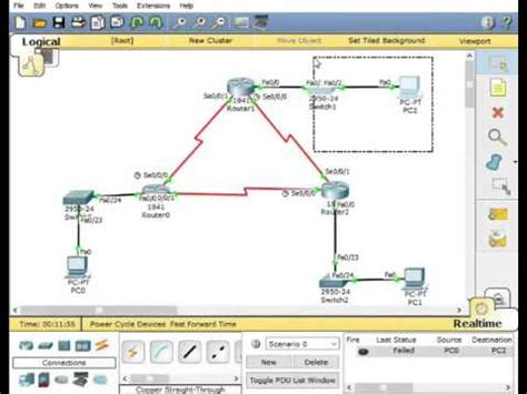 cisco packet tracer v5 3 3 application w tutorials cisco packet tracer 7 static routing 3 router 3 dce wire