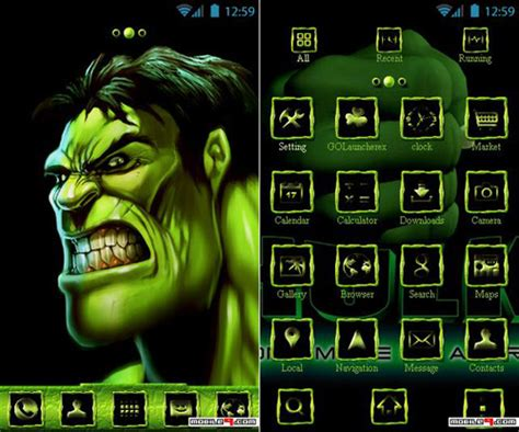 themes apps android mobile9 5 android themes of quot the marvel dc super heroes