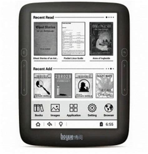boyue t62 e ink ereader with android 4.2 now available on