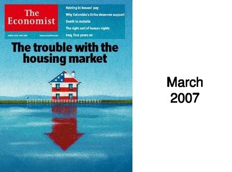 economist covers chart course of current financial crisis