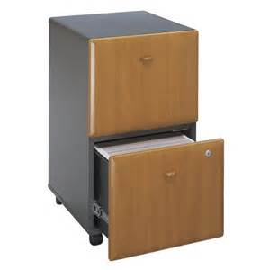 Colored File Cabinets Mobile Cherry Colored Two Drawer Filing Cabinet Series A