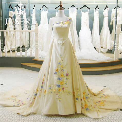 cinderella film wedding dress aliexpress com buy jusere 2017 fairy tale scoop women