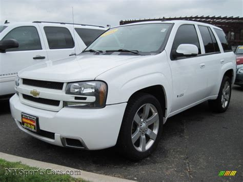chevrolet trailblazer white image gallery 2008 trailblazer white
