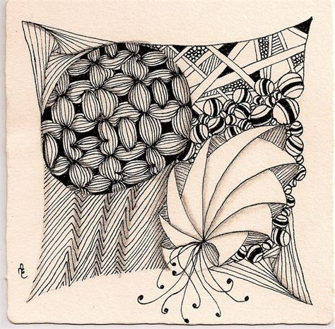 zentangle pattern phicops 17 best images about tangles of zentangle on pinterest