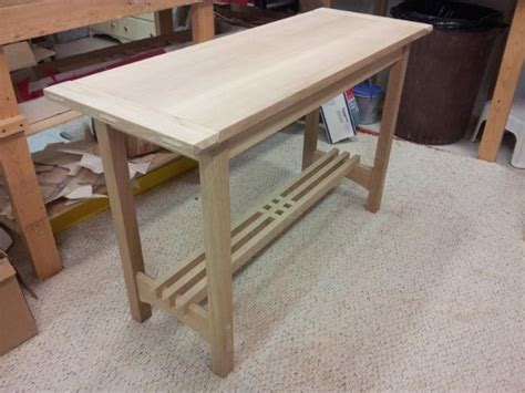arts and crafts sofa table arts and crafts sofa table by jimyoung lumberjocks