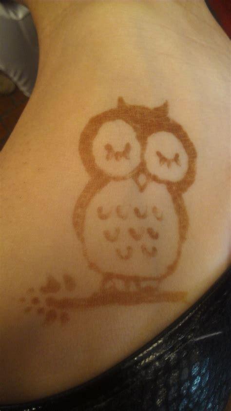 owl tattoo henna cute henna owl by inuangelxx on deviantart