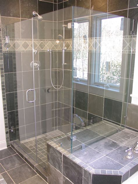 Open Shower In Small Bathroom Beautiful Shower Design Ideas Ifresh Design