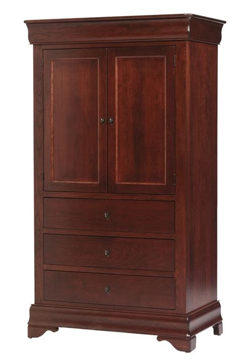 Amish Armoire by Louis Philippe Armoire From Dutchcrafters Amish Furniture