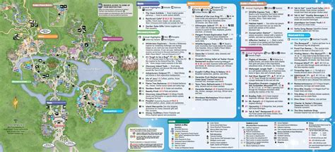 printable animal kingdom map 2015 may 2015 walt disney world resort park maps at animal