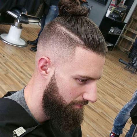 men fade hair top knot men with long hair 2017 men s hairstyles haircuts 2017