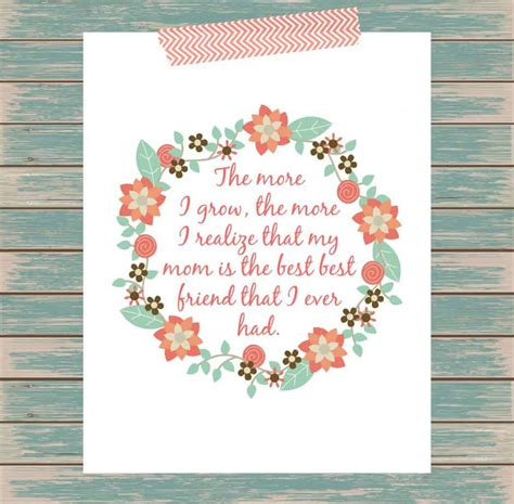 happy mother s day to the best friend heaven sent free printable mother s day