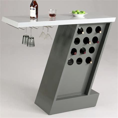 Bar Glass Storage Greenwich Modern Home Bar With Wine Glass Storage Rack