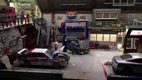 Diorama Werkstatt 1 18 by Diorama Garage 1 18