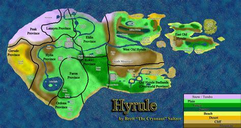 legend of zelda universe map hyrule kings mod mod db