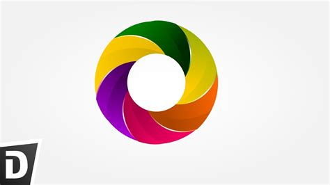 colorful circle logo colorful circle logo inkscape tutorials