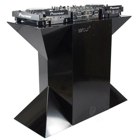 dj desk stand sefour x90 dj stand for dj equipment and acessories dj