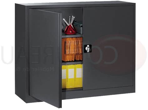 armoire metallique basse armoire m 233 tallique basse 224 portes battantes