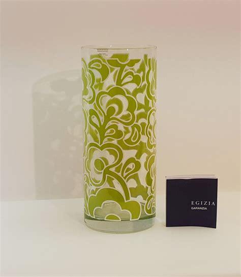 vaso egizia vaso cilindro verde egizia baci e abbracci articoli da