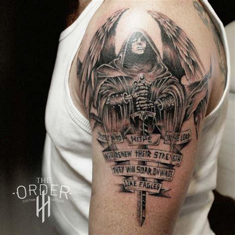 jesselton tattoo gallery archangel war tattoo clipart library