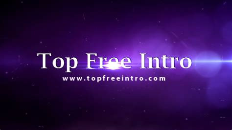sony vegas intro template flare effects topfreeintro com