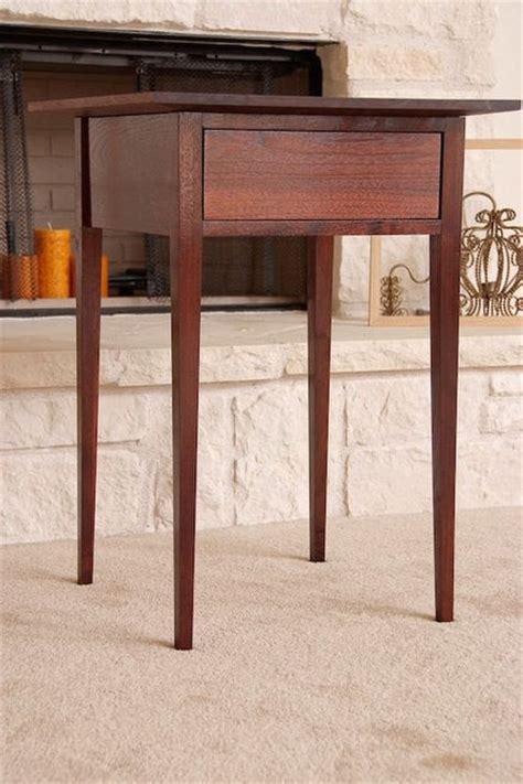 woodwork shaker side table plans pdf plans