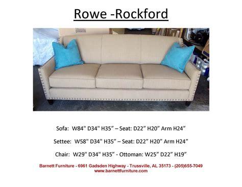 rowe rockford sofa rowe rockford sofa