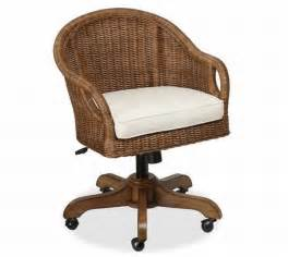Which Desk Chair Is Best Charming Wingate Rattan Swivel Desk Chair Source Information