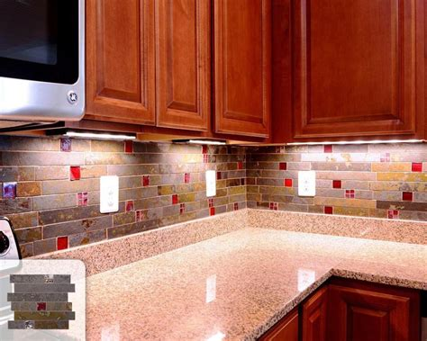 slate kitchen backsplash grey slate backsplash pros and cons of a tumbled stone
