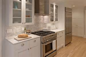 White Galley Kitchen Designs 12 Luxury All White Kitchens With A Tasteful Attention To