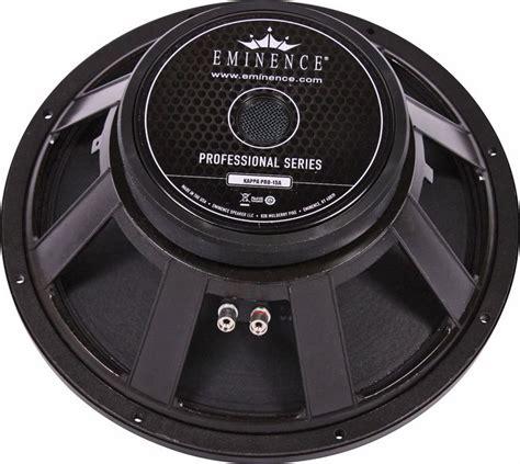 Speaker Kappa Pro 15a Original Made In Usa eminence kappa pro 15a pro audio speaker altomusic