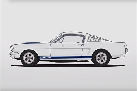evolution mustang evolution of the ford mustang uncrate