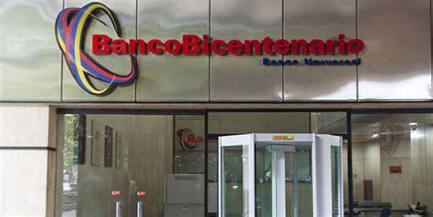 bicentenario banco banco bicentenario suspender 225 servicios de banca en l 237 nea