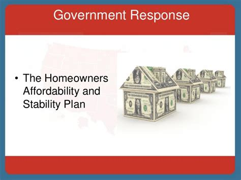 home affordability and stability plan how does the foreclosure crisis can affect you