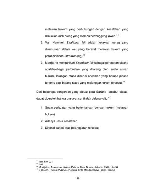 Prenada Media Dari Tiada Pidana Tanpa Kesalahan eksistensi pengadilan tindak pidana korupsi dalam sistem peradilan pi